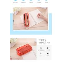 Buy cheap Large Capacity Plain Canvas Pencil Case , Customized Logo Zipper Pencil Pouch from wholesalers