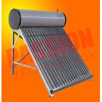 Buy cheap Wall Mounted Solar Water Heater , Tube Solar Hot Water System For Room Heating from wholesalers
