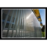 Buy cheap exterior decorative slotted hole perforated metal panel from wholesalers