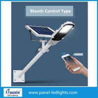 Buy cheap IP65 waterproof 6000k Bluetooth Control 30w 40w Polysilicon Solar Street light from wholesalers