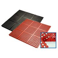 Buy cheap Industrial Anti-slip Rubber Mat , Interlocking  Rubber Floor Mat from wholesalers