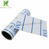 Buy cheap Printed White PE Self Adhesive Stainless Steel Sheet Protective Film from wholesalers