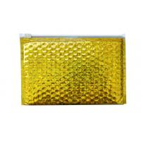 Buy cheap Shockproof Laser Film Zipper Bubble Bags For Jewelry / Cosmetic SGS from wholesalers