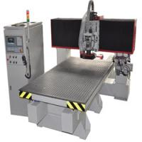 Buy cheap Table-moving CNC Woodworking Center with 1300×2500mm working area furniture engraving machine from wholesalers