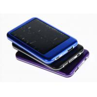 Buy cheap Waterproof 5000mah Solar Portable Power Bank Battery Charger  with 4 LED indicator from wholesalers