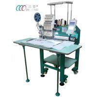 Buy cheap Single Head Cap / Shirt / Flat Computer Embroidery Machine With Single Sequin Device from wholesalers