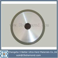 Buy cheap Changsha China manufacturer 6A2 cup vitrified diamond grinding wheel for pcd from wholesalers