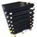 Aluminum Plate  Air Oil Cooler Compressor Heat Exchange 54753918