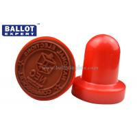 Buy cheap Washable Round Rubber Hand Stamps For Handle Official Business , Small Ink Stamps from wholesalers