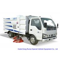 Buy cheap ISUZU 600 Road Sweeper Truck For Washing Sweeping , Street Sweeper Vehicle from wholesalers