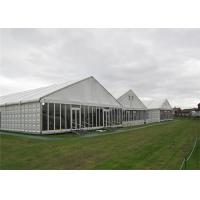 Buy cheap Modern Design Clearspan Structure Outdoor Event Glass Wall Tents For Party Reception product