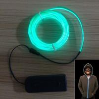 Buy cheap visible light cable for hoodie flash hoodie Halloween Christmas Clubbing Party decoration from wholesalers