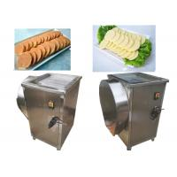 Buy cheap 0.75kw Multipurpose Vegetable Cutter , Cube Cutting Machine CE Approved from wholesalers