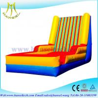 Buy cheap Hansel hot sale inflatable velcro wall, Cheap inflatable bouncer stick wall for sale from wholesalers