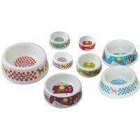 Buy cheap Pet Style Washable Dog Cat Melamine Bowl Lightweight Food Grade from wholesalers