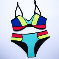 Buy cheap Swimwear Woman Neoprene Material Bikinis Women New Summer Sexy Swimsuit from wholesalers