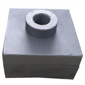 Buy cheap White Iron 80x56x45mm 700BHN 1.6kgs Shredder Hammer Tips product