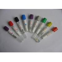 Buy cheap Glass / PET 13 * 100mm Vacuum Blood Collection Glucose tube with CE Certification product