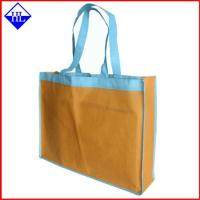 Buy cheap Eco Friendly Recycled Non Woven Shopping Bag , Cusotm Non Woven Printed Bags from wholesalers