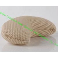 Buy cheap Comfort Japanese Spa Bath Pillow , 3D Mesh Cloth Pe Pipe Travel Neck Pillow from wholesalers