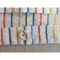 """Buy cheap Seersucker Fabric Yarn-dyed 100% Cotton  30S/1*30S/1   145gsm  58/59"""" use for hometextiles from wholesalers"""
