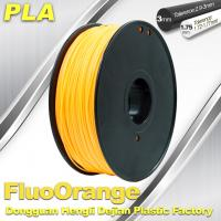 Buy cheap Eco Friendly PLA  Fluorescent  Filament 1.75mm / 3.0mm 3D Printing Filament product
