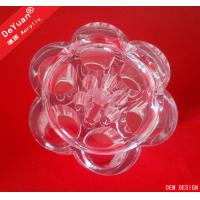 Buy cheap Durable Clear Acrylic Makeup Organizer , Customized Cosmetic Storage Box from wholesalers