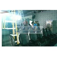 Buy cheap Installing 5D Cinema Equipment With Black Leather Motion Chairs product