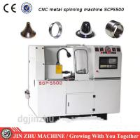 Buy cheap CNC Spinning Lathe Machine , Automatic Spinning Machine With High Efficiency from wholesalers