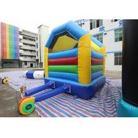 Buy cheap Colorful Simple Inflatable Bounce House Kids Play Home Use Bouncy Castle For Fun from wholesalers