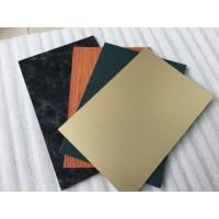 Buy cheap Triple Coating Aluminum Composite Metal Panels With Paint Thickness 35um from wholesalers