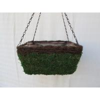 Buy cheap 14`MOSS HANGING BASKET FOR GARGENING,HOME DECO.Spaniel Hanging Basket Garden from wholesalers