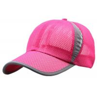 Buy cheap Mesh Snapback Outdoor Baseball Caps For Women Breathable In Summer Logo Printing from wholesalers