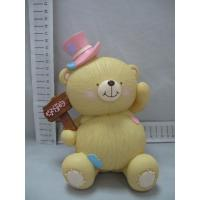 Buy cheap Bear shape pottery  poly resin  money box / boxes for childrens gifts from wholesalers