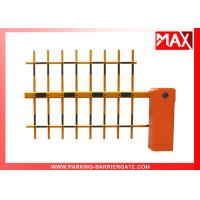 Buy cheap AC Remote Control Intelligent Barrier Road Safety Barriers Free Logo Printing from wholesalers