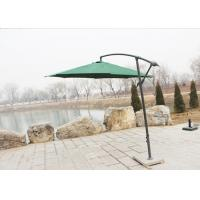 Buy cheap 300cm Cantilever Hanging Patio Umbrella / Offset Patio Umbrella With Base from wholesalers
