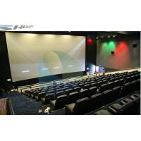 Buy cheap 4D Movie Theater Equipments 7.1 audio system with curved / flat Screen product