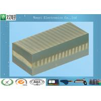 Buy cheap Gold Wire Heat Seal Connector GYS Type / PCB Finger LCD Connector Grey Layer from wholesalers