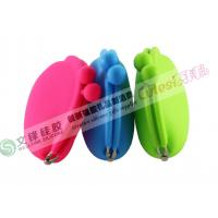 Buy cheap Coloful popular Silicone Coin Wallet for ladies hold key,cash,coin factory form China from wholesalers