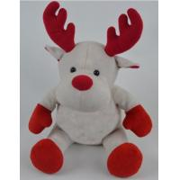 Buy cheap Promotion Gifts Moose Reindeer Custom Plush Toys With 100% PP Cotton Fabric product