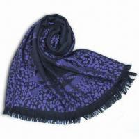 Buy cheap Wool Leopard Scarf, Available in Various Colors, Measures 70 x 190 x 2cm, Suitable for Male Models from wholesalers