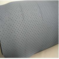 White Neoprene Rubber Sheet , Breathable Oil Resistant Rubber