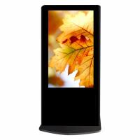 Buy cheap USB Auto Updates Advertising Kiosks Displays , Multimedia Touch Screen Display Stand from wholesalers