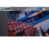 Buy cheap Large Mobile 4D Movie Theater Equipment  , Motion Chairs With Comfortable Headrest And Cup Saucer from wholesalers