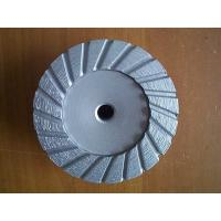 Buy cheap Turbo Type Diamond Cup Grinding Wheel Discs For Concrete / 4 Inch Grinder Wheels from wholesalers