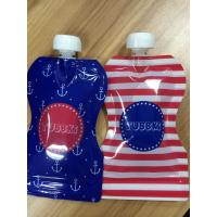 Buy cheap Leakproof  Reusable Baby Food Pouches with Bottom Double Zipper from wholesalers