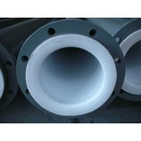 Buy cheap Anti-Corrosion PTFE Teflon Tube / PTFE Lined Pipe Power Plant from wholesalers