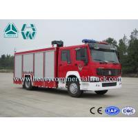 266Hp 4X2 Fire Fighting Vehicles / Fire Department Ladder Truck