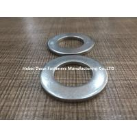 Buy cheap Zinc Plated Finish Steel Flat Washers DIN 9021 3mm Thickness Grade 4.8 from wholesalers