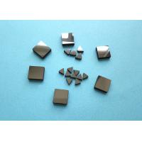 Buy cheap Diamond Tips PCD Blanks For Metal , Lathe Machine Smooth Surface PCD Die Blanks product